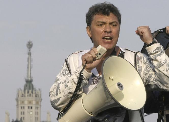 Boris Nemtsov, en mai 2012.