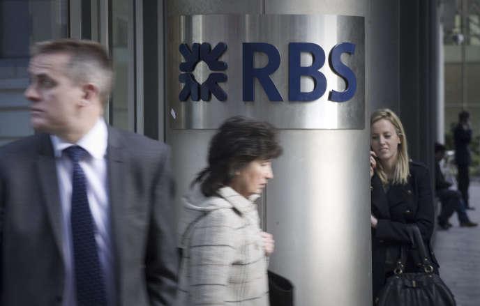 Royal Bank of Scotland, leader mondial du secteur en2008, est désormais autour de la vingtième place.