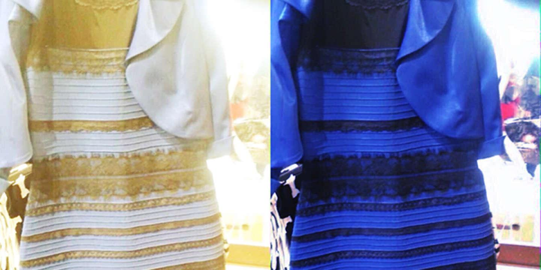 Pourquoi certains voient la robe bleue et d'autres blanche