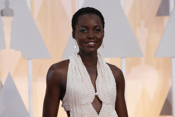L'actrice Lupita Nyongo à Hollywood, le 26 février 2015.