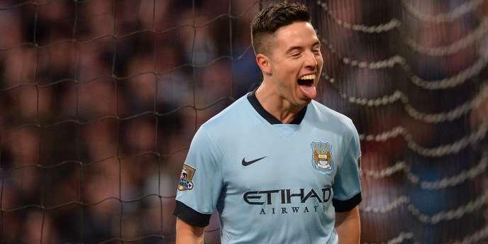Samir Nasri le 21 février avec Manchester City.