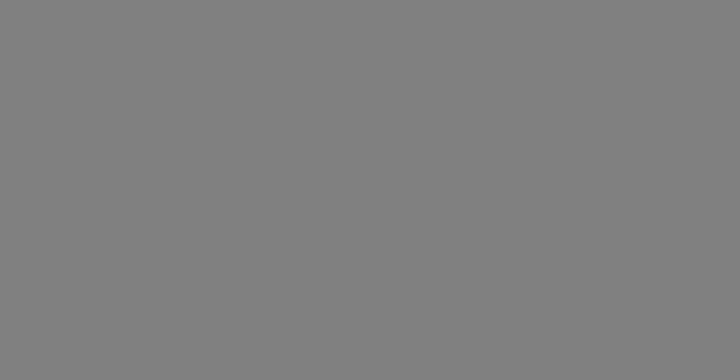 Représentation du gris neutre. Ses valeurs numériques sont : 128 pour le canal rouge, 128 pour le canal vert et 128 pour le canal bleu.