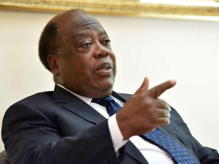 Charles Konan Banny, en décembre 2014 à Abidjan.