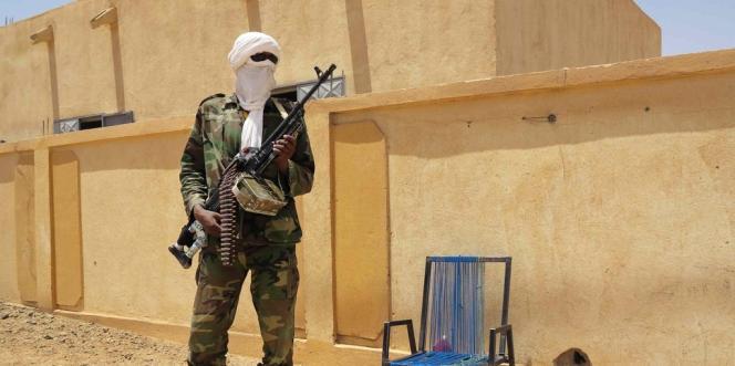 Un membre du Mouvement national pour la libération de l'Azawad (MNLA).
