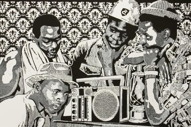 Nize Nisikhonzele phela bandla bo 2, par l'artiste sud-africain Bambo Sibiya