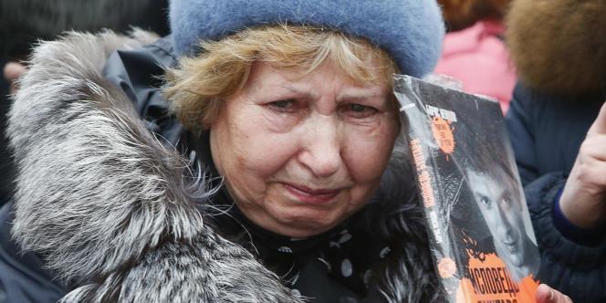 Hommage à Boris Nemtsov, samedi 28 février.