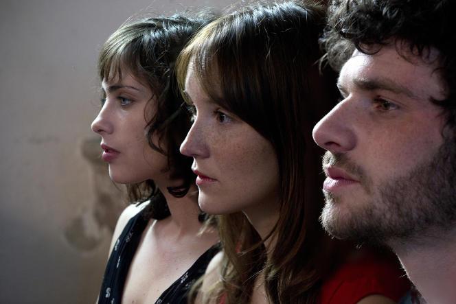 Sophie Verbeeck, Anaïs Demoustier et Félix Moati dans