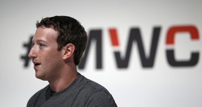 Mark Zuckerberg, le patron fondateur du réseau social Facebook.