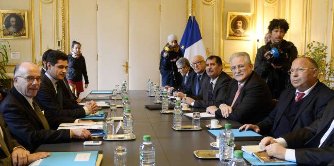 Une réunion entre les instances musulmanes et le ministère de l'Intérieur s'est déroulée le 24 février.