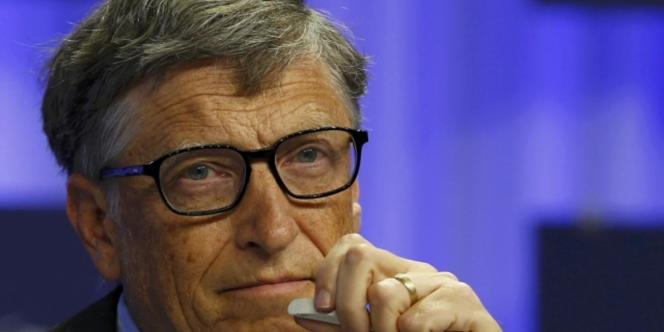 L'Américain Bill Gates au Forum économique mondial de Davos, en janvier 2014. Le cofondateur de Microsoft reste l'homme le plus riche du monde, selon le classement annuel du magazine