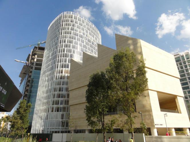 Le Musée Jumex, à Mexico, a ouvert ses portes en novembre 2013.