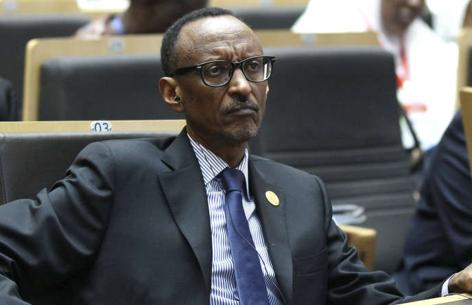 Le président du Rwanda Paul Kagamé au siège de l'Union africaine à Addis-Abeba, le 30 janvier 2015.