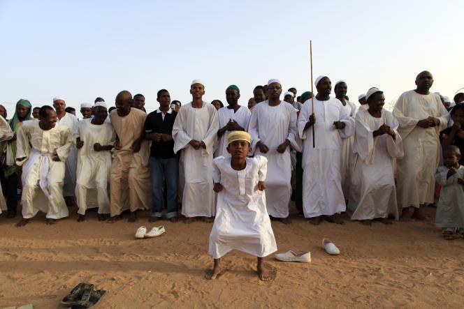 Des soufis soudanais à Omdurman, en avril 2010.
