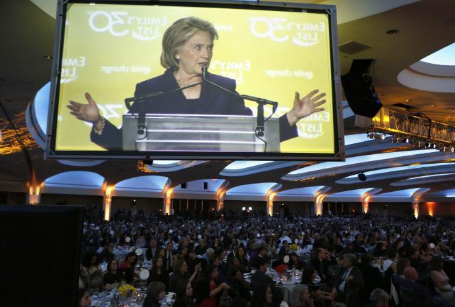 Hillary Clinton, le 3 mars, à Washington.