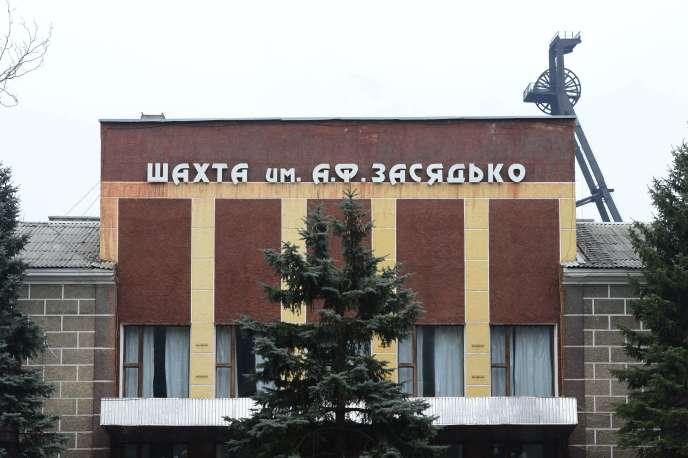 La mine de Zasyadko à Donetsk, où un coup de grisou a tué au moins 32personnes mercredi4mars.