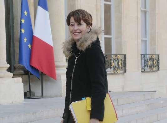 Adeline Hazan, contrôleure générale des lieux de privation de liberté, en mars 2015.