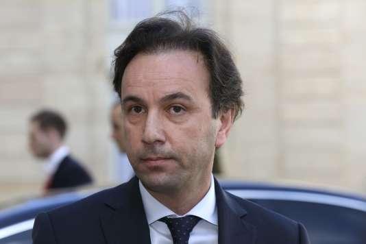 Khaled Khoja, président de la Coalition de l'opposition syrienne, le 5 mars, au palais de l'Elysée à Paris.