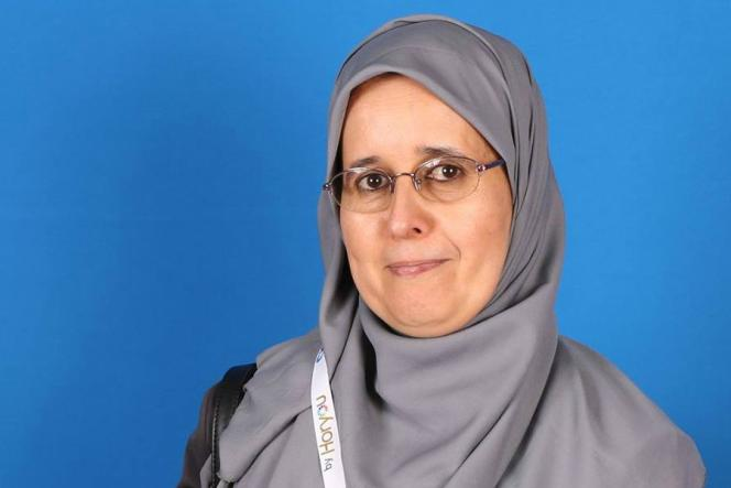 Souad Dibi, présidente  de l'association féminine El Khir, à Essaouira.