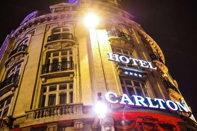 L'hôtel Carlton, à Lille.