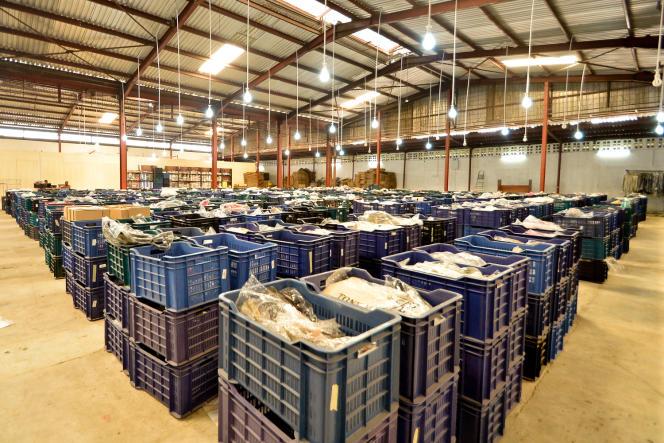 Les entrepôts de Jumia à Lagos, Nigeria