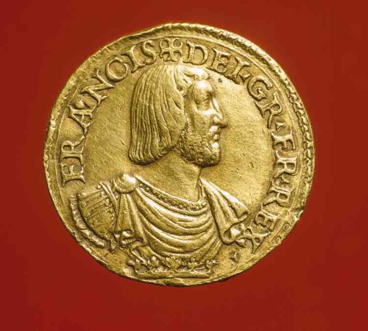 Le profil du roi se diffuse sur les monnaies et fait l'objet de belles créations, comme cet essai qui se rapproche de l'art de la médaille.