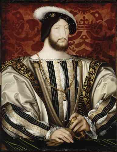 Ce grand portrait d'apparat devenu emblématique de François Ier n'a pas été très connu de son vivant en dehors des cercles de la cour.