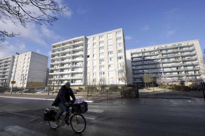 Des HLM à Tremblay-en-France (Seine-Saint-Denis).