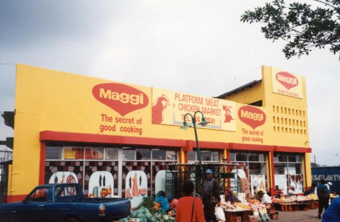 Un Maggi store, au Nigeria.
