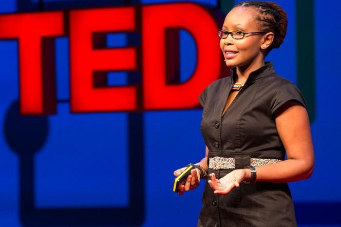 Juliana Rotich lors d'une conférence TED Global en juin 2013 à  Edimbourg.