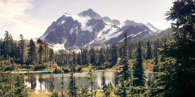 Le même mont Shuksan aujourd'hui.