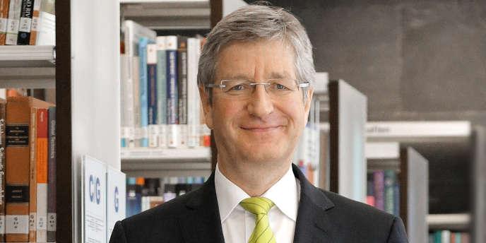 Le professeur Wolfgang  Marquardt au centre de recherche Jülich (Allemagne), en février 2014.