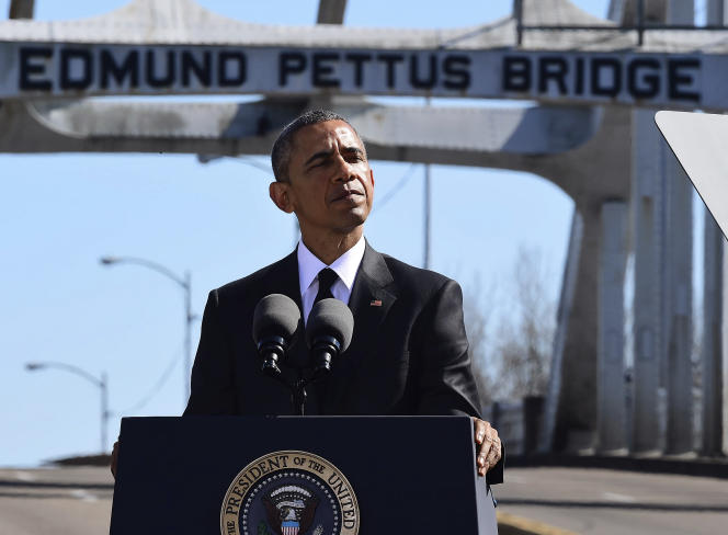 Discours de Barack Obama à Selma, samedi après-midi.