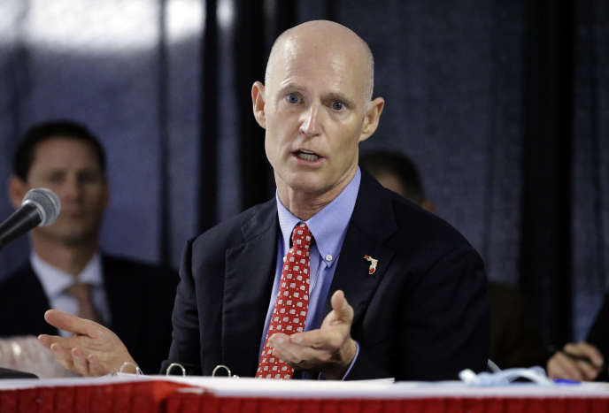Le gouverneur de Floride, Rick Scott, à Tampa, le 5 février 2015.