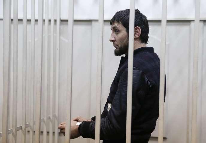Zaour Dadaïev, le 8 mars au tribunal.