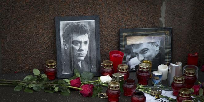 L'opposant russe Boris Nemtsov a été tué par balle le 27 février.