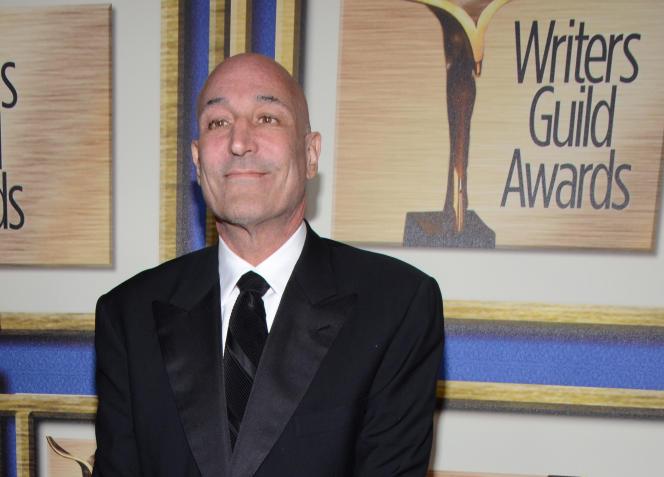 Sam Simon, en février 2014 à Los Angeles lors de la cérémonie des Writers Guild Awards.