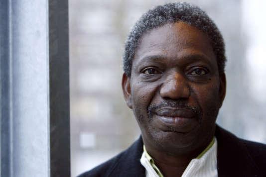 Idrissa Ouedraogo à la Cinémathèque française à Paris,le 17 janvier 2008.