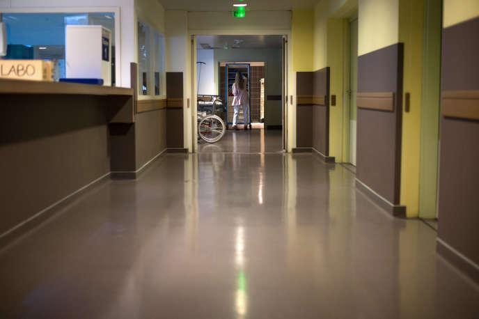 A l'hôpital Nord de Marseille.