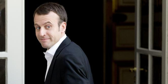 Emmanuel Macron, le 6 mars à Matignon.
