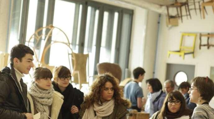 Journée portes ouvertes à l'Ecole Boulle, à Paris