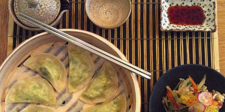 Les raviolis coréens du Mandoobar, Paris, 8e.