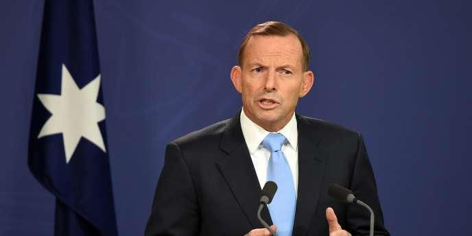 Le premier ministre australien, Tony Abbott, le 6 février 2015, à Sydney.