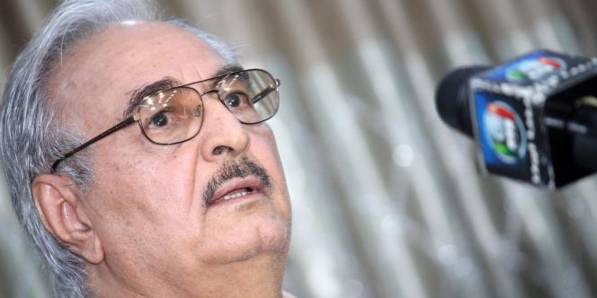 Le général Khalifa Haftar.