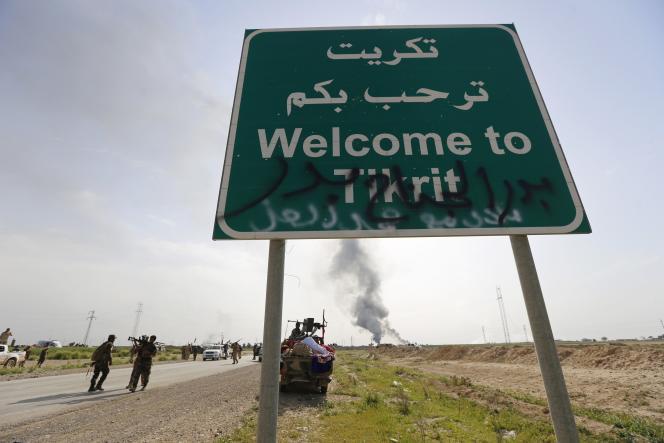 La prise de Tikrit par les forces gouvernementales ouvrirait la voie à une offensive contre Mossoul, la plus grande ville du nord de l'Irak contrôlée par les djihadistes.