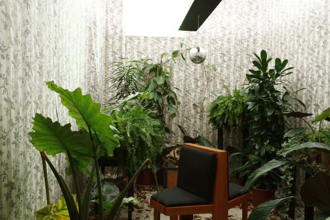 Seymour+ a pensé à tout, même au jardin d'hiver, idéal pour une méditation  à l'abri des nuisances.
