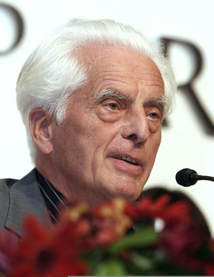L'architecte allemand Frei Otto, le 17 octobre 2006 à Tokyo.