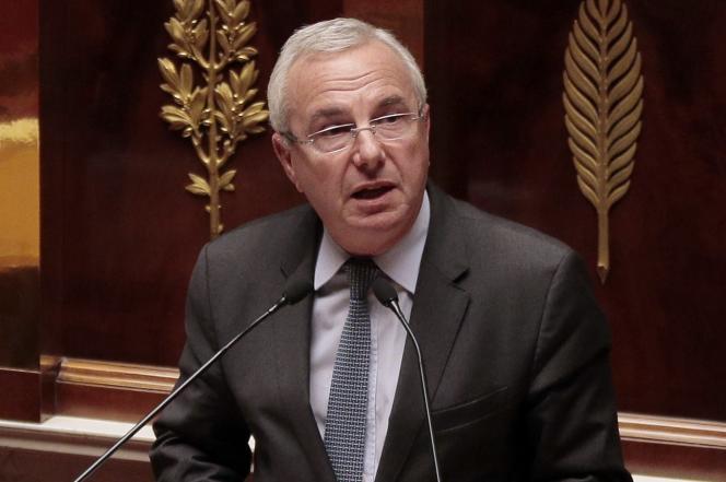 Jean Leonetti, le maire d'Antibes, à l'Assemblée nationale à Paris, le 10 mars 2015.