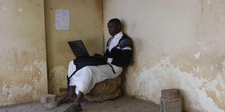 Hassan, étudiant nigérian à l'université internationale d'Afrique, à Khartoum.