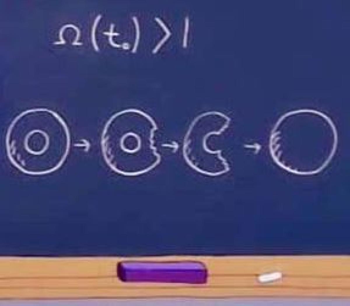 L'énergie de l'univers au moment du Big Bang et la topologie du tore-donut selon Homer Simpson.