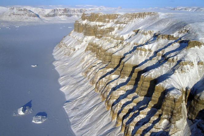 Au Groenland.